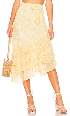 JUPE TAILLE HAUTE ALI House of Harlow 1960 $54