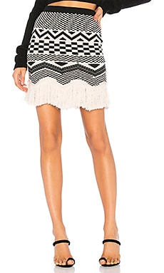 x REVOLVE Ash Skirt House of Harlow 1960 $148