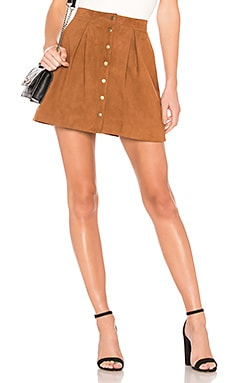x REVOLVE Klara Suede Skirt House of Harlow 1960 $65 (FINAL SALE)
