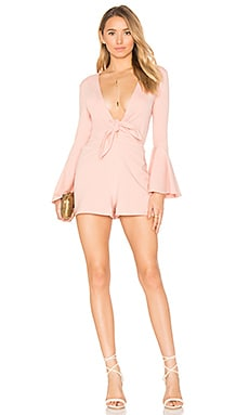 x REVOLVE Lennox Romper in Canyon Rose