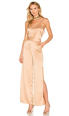 x REVOLVE Hunter Jumpsuit in Camel