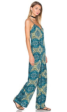 House of Harlow 1960 x REVOLVE Gia Jumpsuit in Moroccan Tile Print