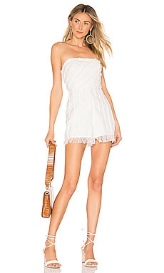 X REVOLVE Amelia Romper House of Harlow 1960 $42 (FINAL SALE)