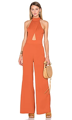 House of Harlow 1960 x REVOLVE Karen Cutout Jumpsuit in Burnt Orange