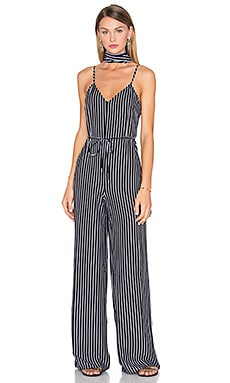 House of Harlow 1960 x REVOLVE Gia Jumpsuit in Black & White Stripe