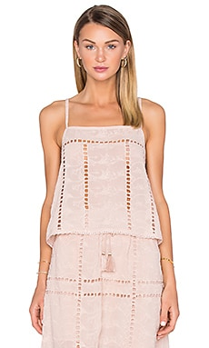 x REVOLVE Avery Crop in Taupe