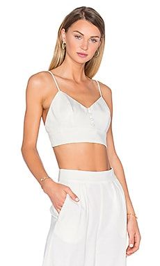 House of Harlow 1960 x REVOLVE Bailey V-Neck Bralette in Ivory