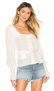 x REVOLVE Arleta Blouse House of Harlow 1960 $158