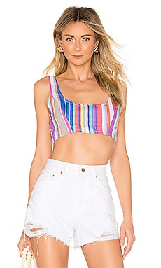x REVOLVE Yvonne Crop Top House of Harlow 1960 $68 NEW ARRIVAL