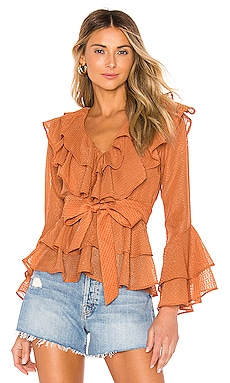 X REVOLVE Quintana Blouse House of Harlow 1960 $86