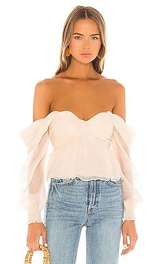 X REVOLVE Burna Blouse House of Harlow 1960 $158 BEST SELLER