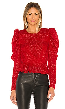 x REVOLVE Darya Blouse House of Harlow 1960 $178