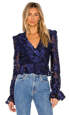 x REVOLVE Solana Blouse House of Harlow 1960 $168