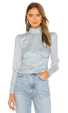 x REVOLVE Ahra Blouse House of Harlow 1960 $68 (FINAL SALE)