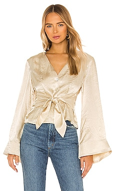 x REVOLVE Flared Sleeve Top House of Harlow 1960 $188