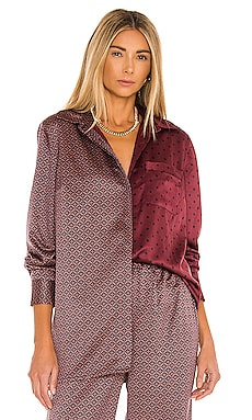 x REVOLVE Printed Pajama Top House of Harlow 1960 $178