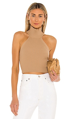 TOP HALTER HEATHER House of Harlow 1960 $128