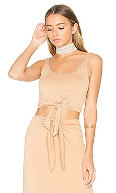 x REVOLVE Evie Top in Almond