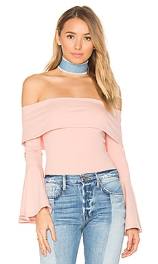 x REVOLVE Abby Bodysuit in Canyon Rose