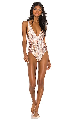 X REVOLVE Anastasia One Piece House of Harlow 1960 $138 NEW ARRIVAL
