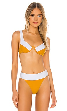 TOP BIKINI SAXON House of Harlow 1960 $85 NUEVO