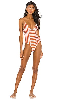X REVOLVE Tigers Eye One Piece House of Harlow 1960 $138 BEST SELLER