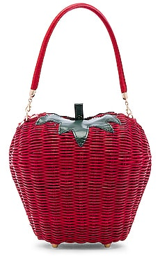 X REVOLVE Rouge Basket Bag House of Harlow 1960 $60 (FINAL SALE)