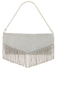 x REVOLVE Diana Fringe Clutch House of Harlow 1960 $178 NEW ARRIVAL