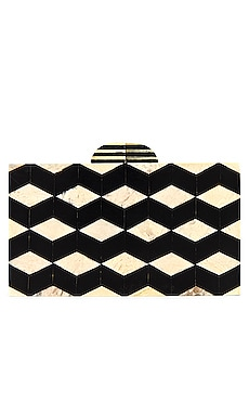 x REVOLVE Demetri Clutch House of Harlow 1960 $175
