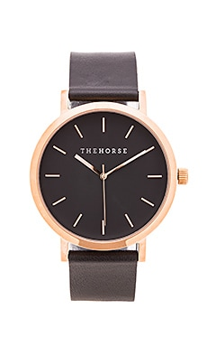 The Horse Original in Polished Rose Gold & Black