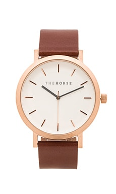 The Horse Original in Rose Gold & Walnut