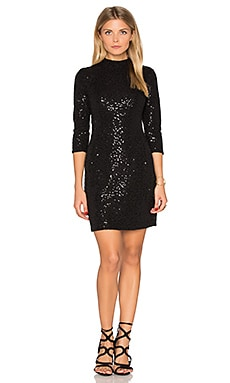 Long Sleeve Embellished Mini Dress