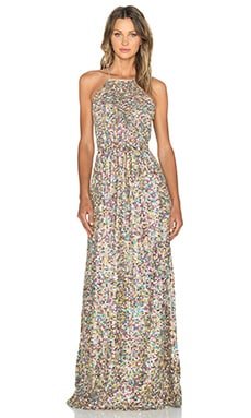 Hoss Intropia Embellished Maxi Dress in Multicolor