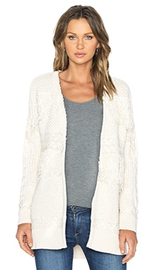Hoss Intropia Cardigan in Ivory