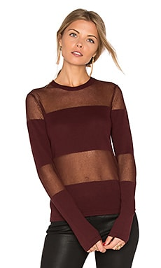 Long Sleeve Sheer Sweater