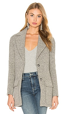 Hoss Intropia Long Sleeve Jacket in Ice