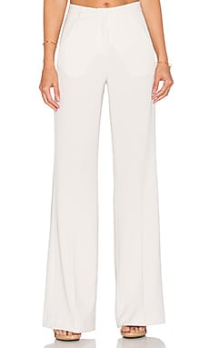 Hoss Intropia Wide Leg Trouser in Ivory