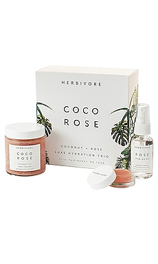 Coco Rose Luxe Hydration Trio Herbivore Botanicals $39 BEST SELLER