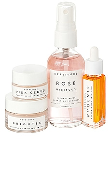 Hydrate + Glow Natural Skincare Mini Collection Herbivore Botanicals $39 BEST SELLER
