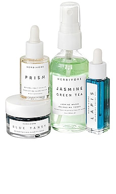 Balance + Clarify Natural Skincare Mini Collection Herbivore Botanicals $49