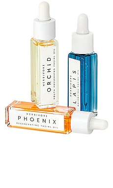 Mini Facial Oil Trio Herbivore Botanicals $29