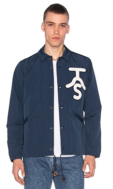 The Hill-Side Ueno Jacket in Navy with Rancher Logo Patch
