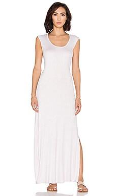 Heather Twist Back Dress in Pumice