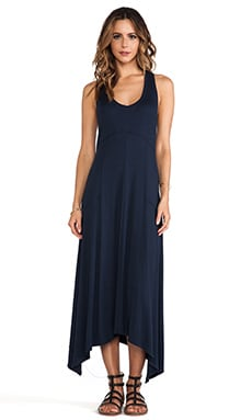 Heather Racerback Maxi Dress in Onyx