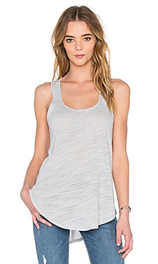 Cotton & Gauze Panel Tank in Iron