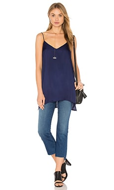 Heather Woven Cami Tunic in Eclipse