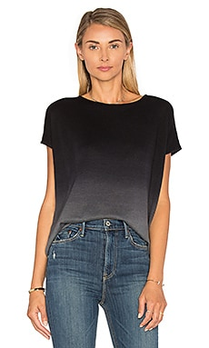 Ombre Boxy Top in Grey Ombre