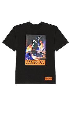 Oversized Heron Times Tee Heron Preston $231