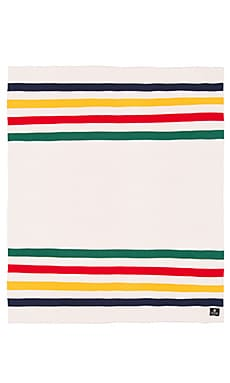 Hudson's Bay Company Luxe Knitted Throw in Multistripe