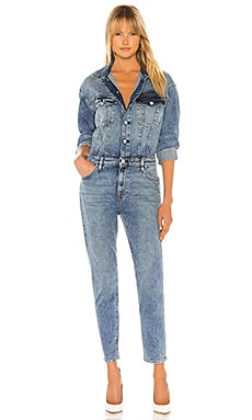Fitted Long Sleeve Jumpsuit Hudson Jeans $345